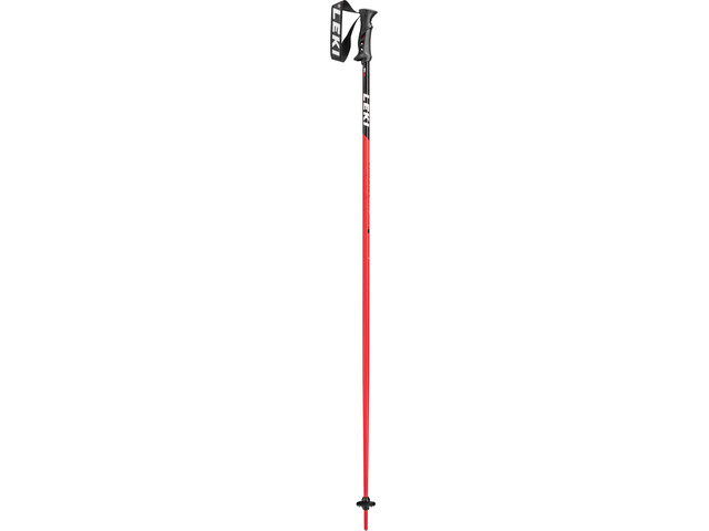 LEKI Primacy Ride Skistöcke black/white/neon red